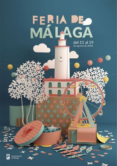 Cartel Feria de Málaga 2018